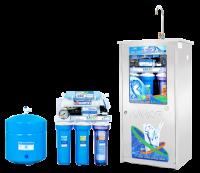 Máy lọc nước Karofi 8 lõi lọc bình áp thép đồng hồ áp (KT8D)