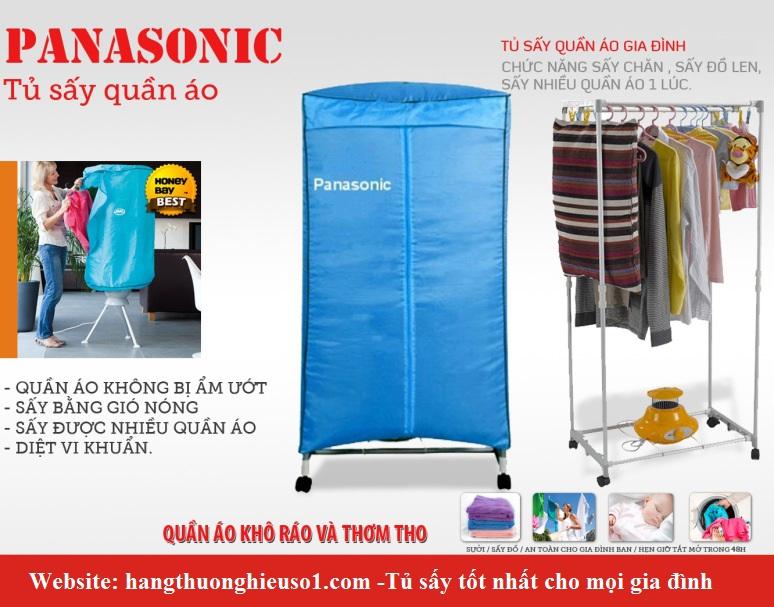 Máy sấy, tủ sấy quần áo Panasonic 2 tầng mới