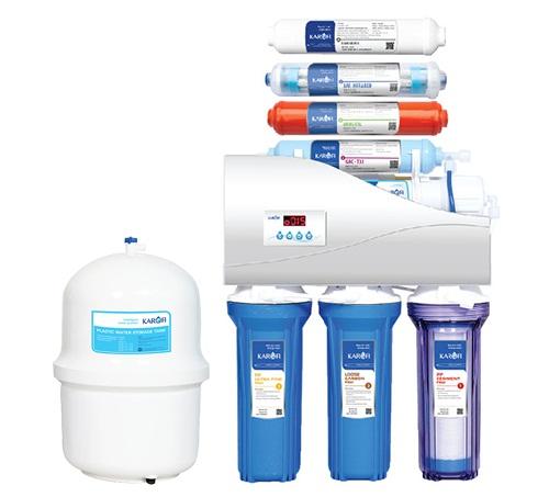 Máy lọc nước karofi thông minh 8 cấp lọc 1.1 iro tự động sục rửa