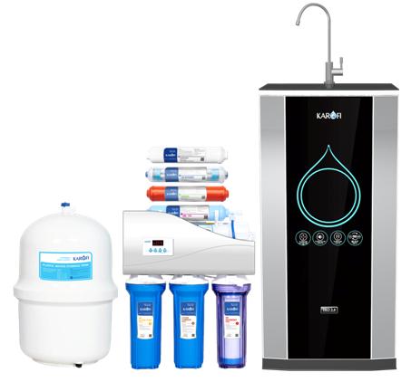 Máy lọc nước karofi thông minh iRO 2.0 tủ IQ 7 cấp lọc (K7IQ-2)