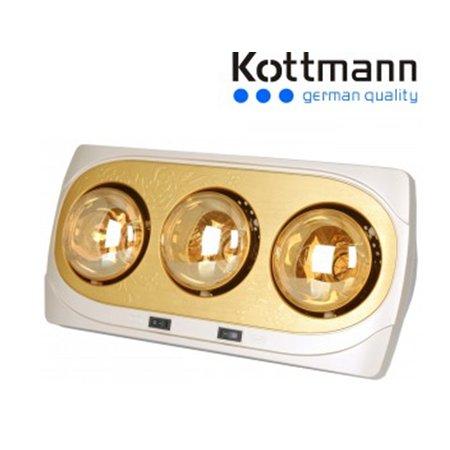 Đèn sưởi nhà tắm Kottmann 3 bóng K3BNV