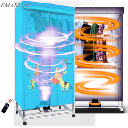 Máy sấy quần áo diệt khuẩn Emasu Nhật Bản - ET308UV