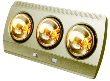 Đèn sưởi nhà tắm kottman 3 bóng dòng vàng (K3BG)