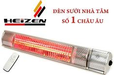Đèn sưởi nhà tắm Heizen 2000W có điều khiển từ xa (HEITR)